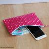 Essentials Pouch {Pink Polka Dot}