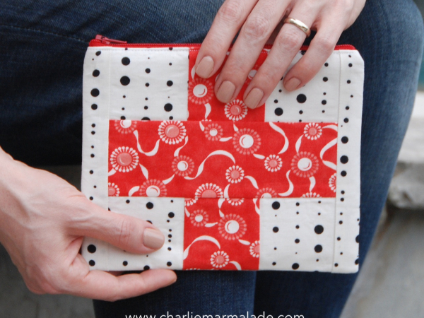 First Aid Pouch {Ink Blot}
