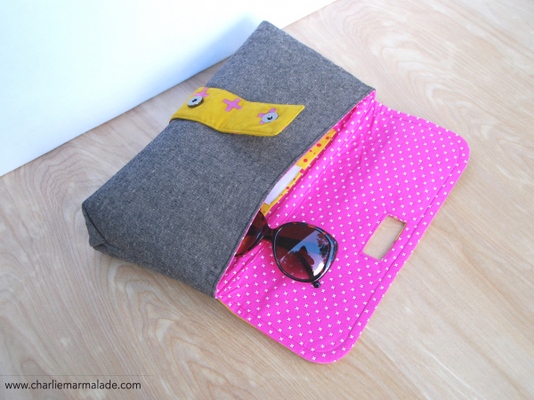 Charlie Clutch {Limited Addition} interior