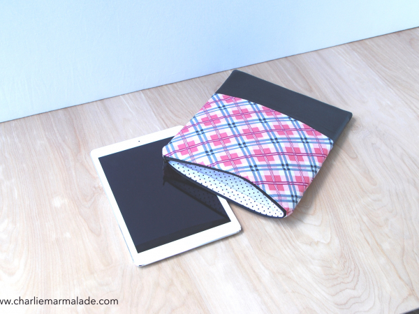 QTech Case {Preppy Plaid} lining