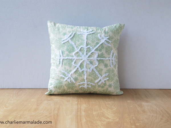 Quillow {Snowflake} front