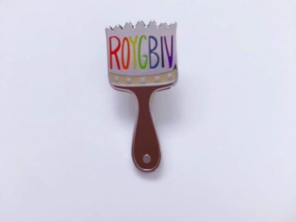 Enamel Pin {ROYGBIV}