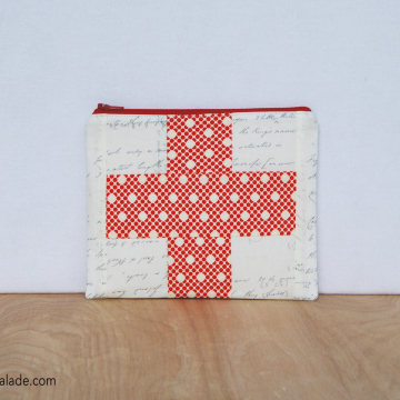 First Aid Pouch {Circle Dots}