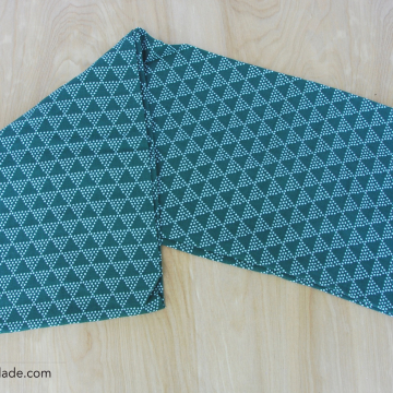 Infinity {Teal Triangles}