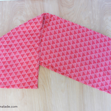 Infinity {Pink Triangles}