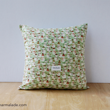 Quillow {Snowflake} zippered back