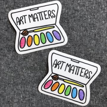 Sticker {Art Matters}
