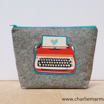 Traveler {Retro Red Typewriter}